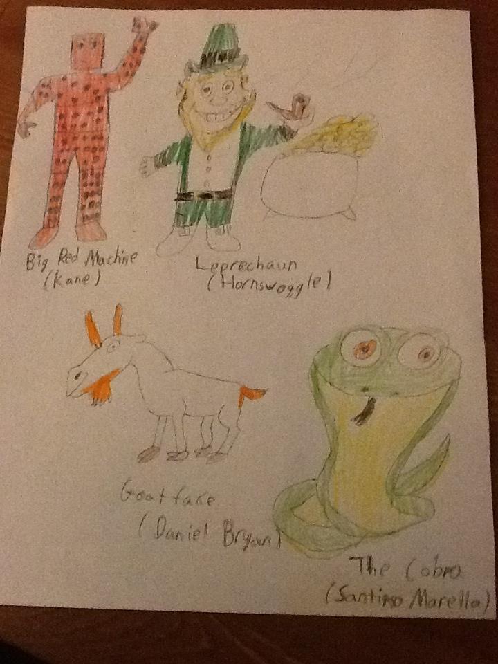 Wwe Cartoon Drawings Of Wwe Part 1 By Jojoker Boy On Deviantart