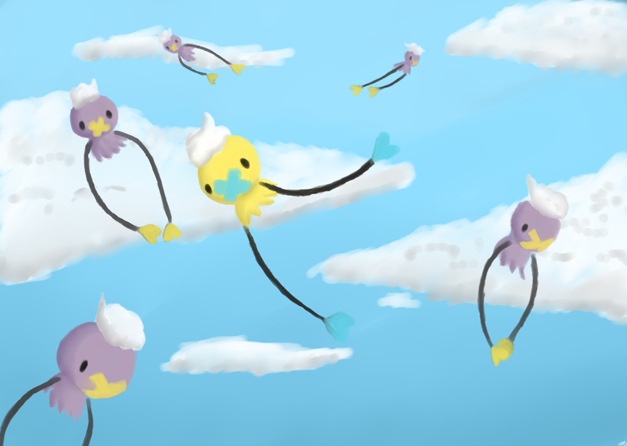 Drifloons in the Clouds by Ashravens