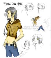 character sheet - manananggal by winterchild