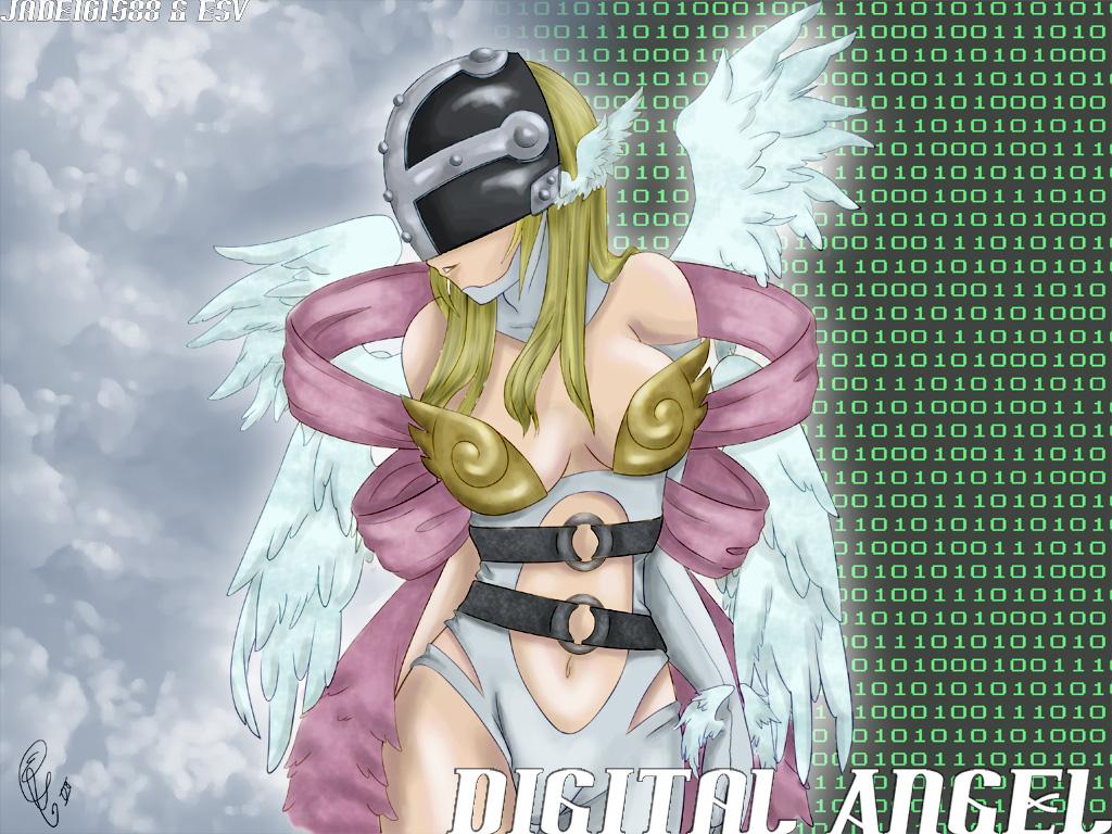 Digital Angel by jade161588