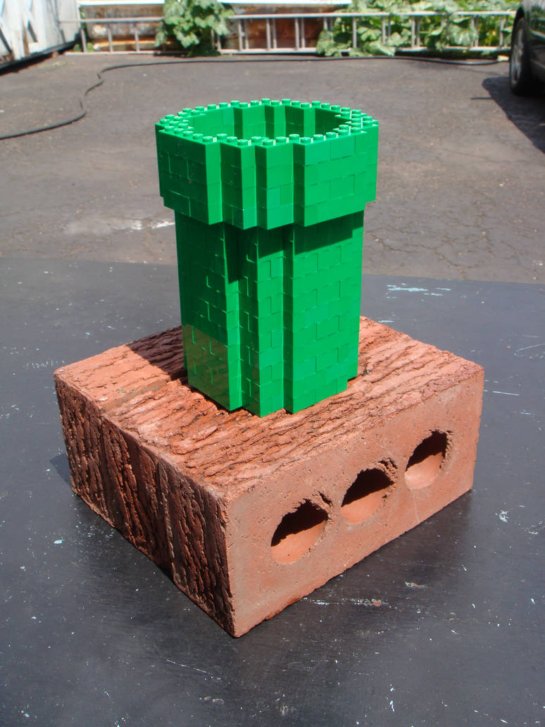 Lego Warp Pipe