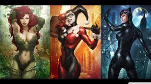 Girls Of Batman by harleyquinnxguason