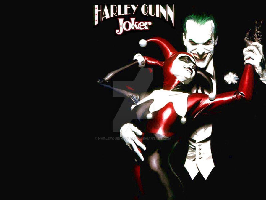 Harley Quinn Joker Wallpaper By Harleyquinnxguason On Deviantart