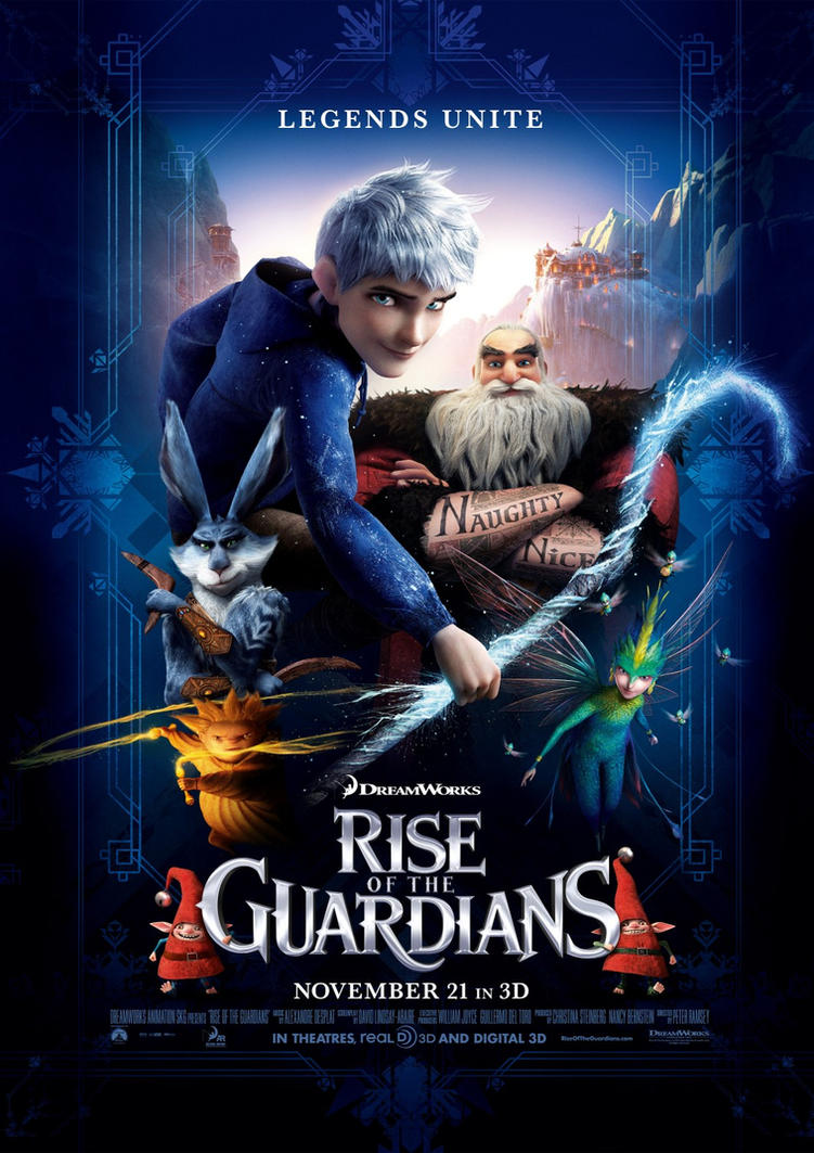 Rise Of The Guardians Movie Reviews by EspioArtwork31