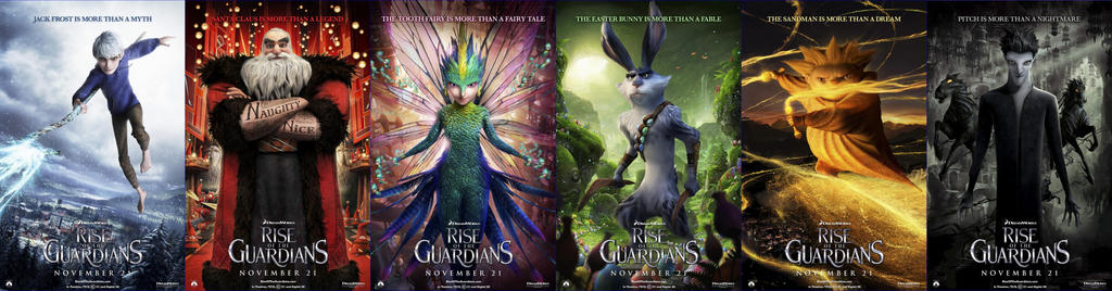 rise of the guardians jack frost and tooth fairy
