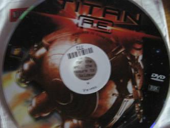 Titan AE Netflix DVD by EspioArtwork31