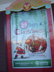 The Incredibles on ABC Family 25 Days of Christmas by EspioArtwork31