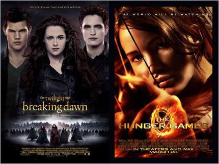 Ultimate Movie Poll Breaking Dawn Hunger Games by EspioArtwork31