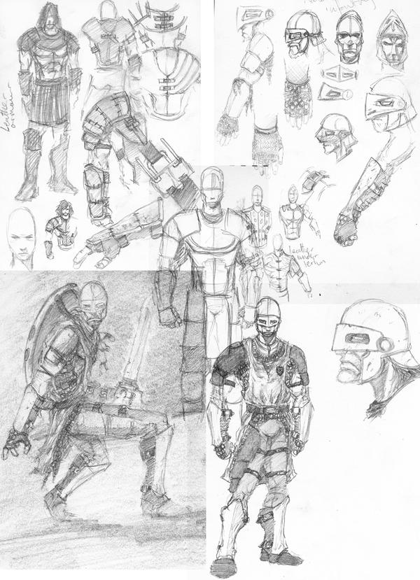 malazan infantry sketches
