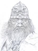 Druss portrait by slaine69