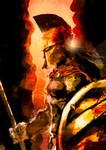 Spartan Speedpaint by slaine69