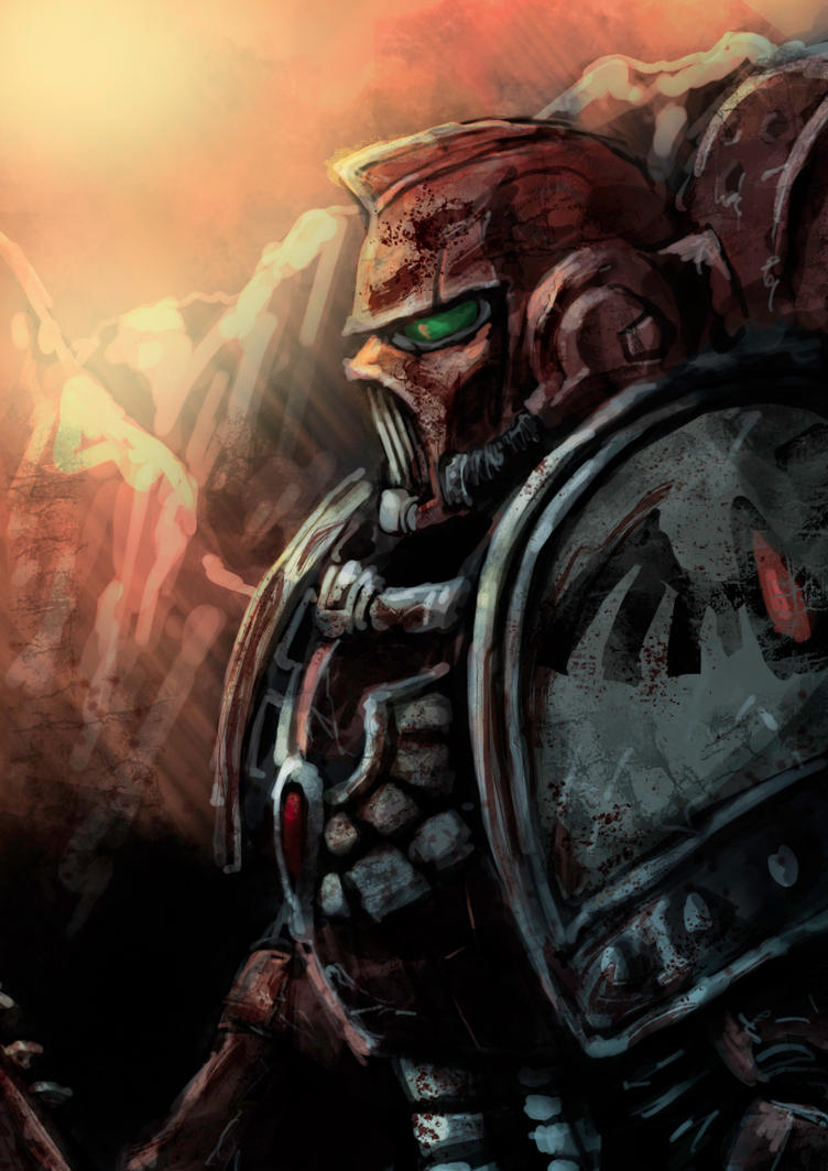 Space marine Speedpaint by slaine69