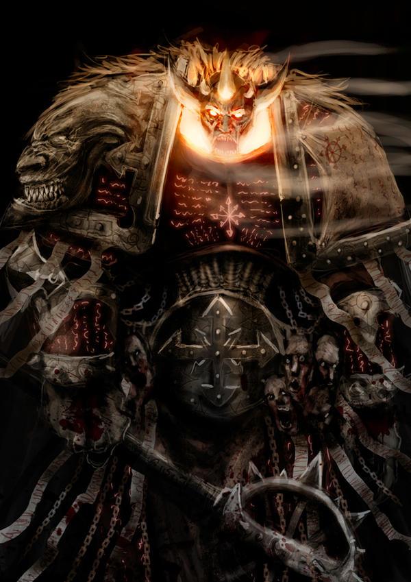 Lorgar demon prince