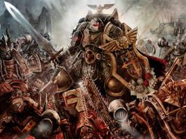Black Templar Marshall by slaine69