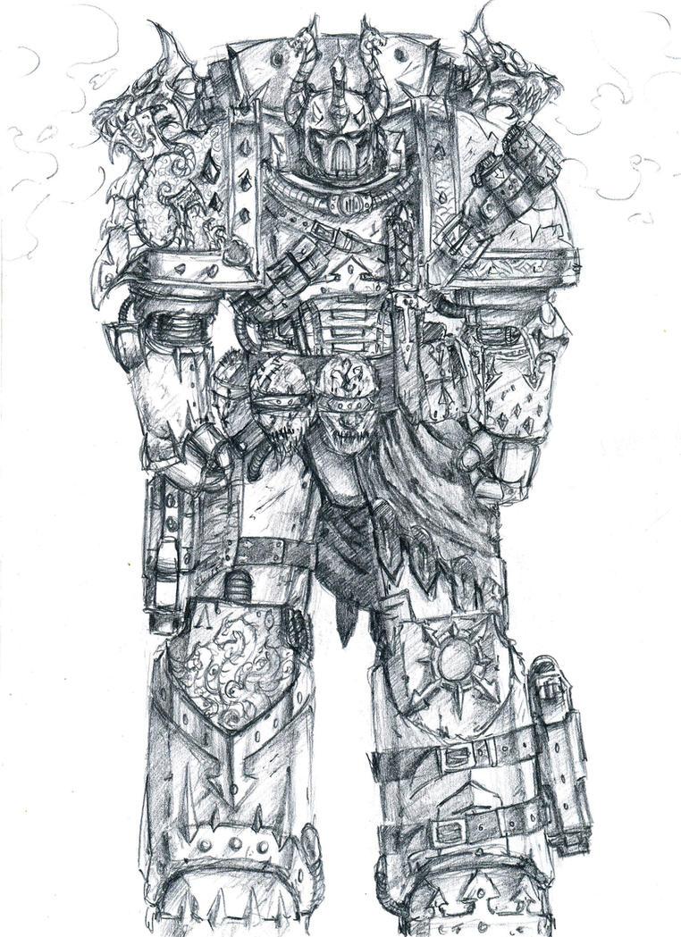 alpha_legion concept by slaine69