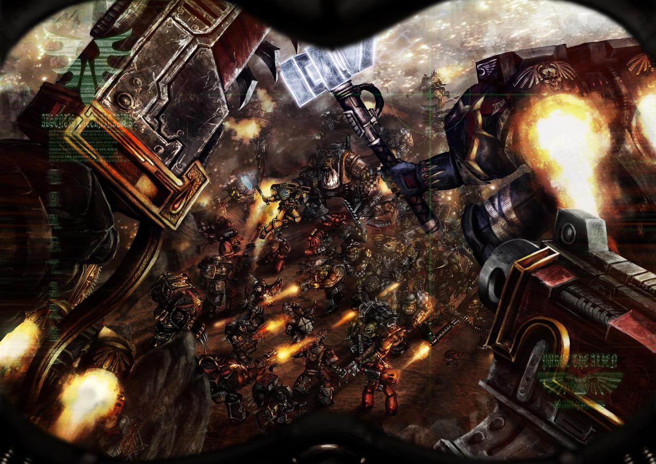 Warhammer 40k death company wallpaper - Death Company By Slaine69 Death Company By Slaine69