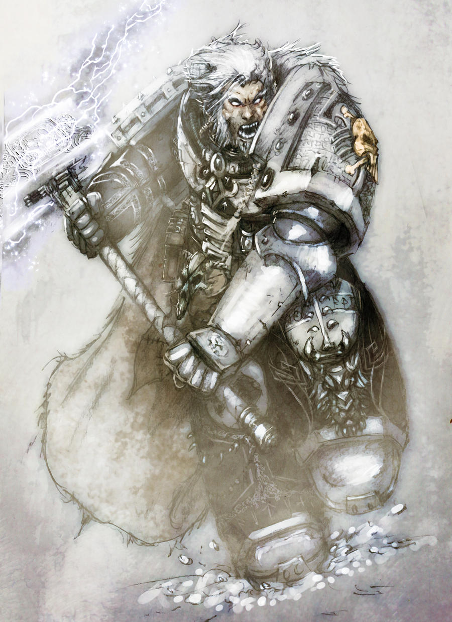 deathwatch_wolf by slaine69