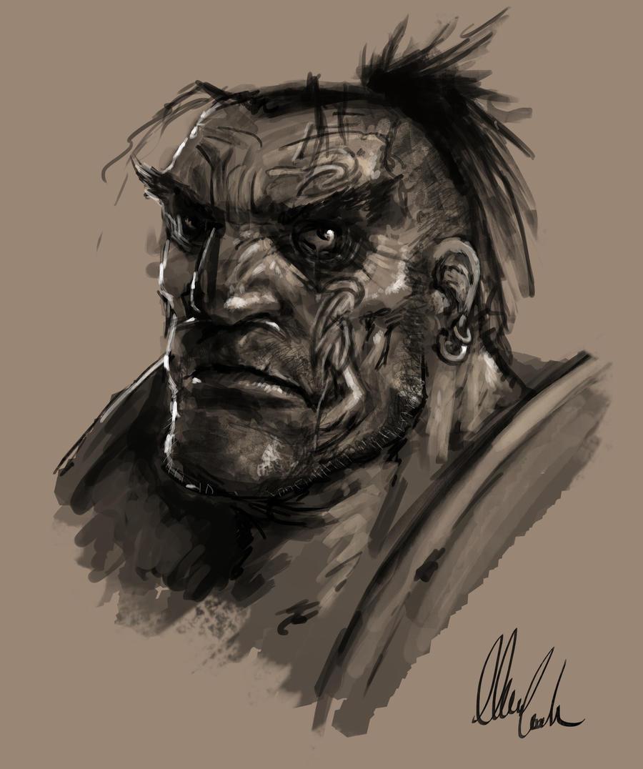 bruteface by slaine69