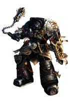 Black Shield Alric by slaine69
