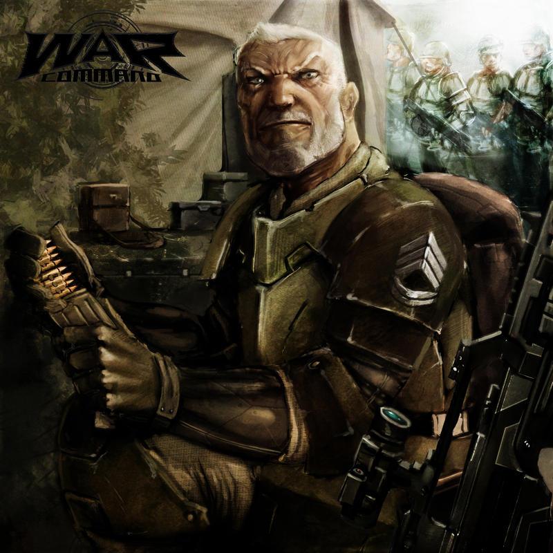 Veteran Sargeant by slaine69
