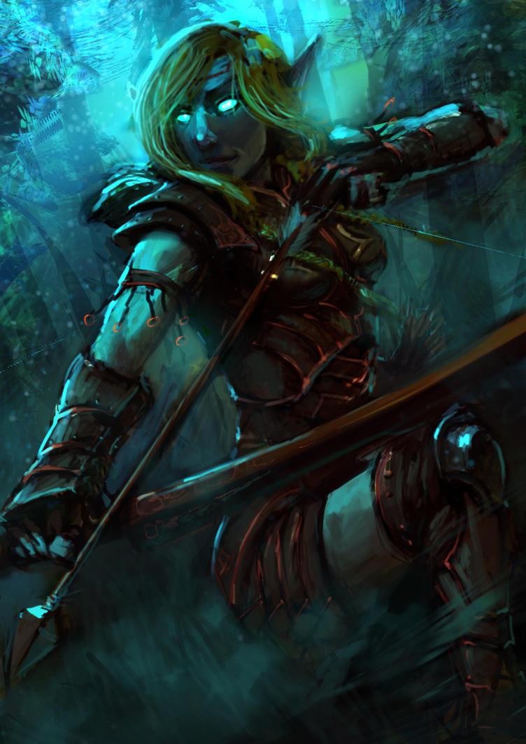 Elf maiden by slaine69