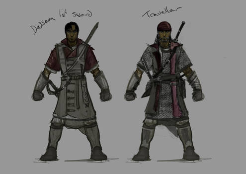 Traveller Character design