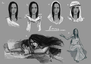 Lady Envy Character design