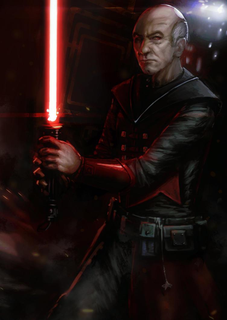 Picard the Sith by slaine69