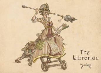 The Librarian by slaine69