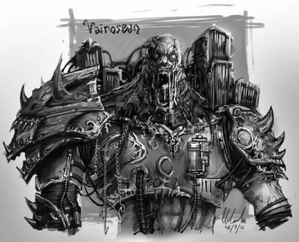 Marius Vairosean Sketch