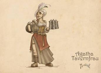 Agatha Tavernfrau by slaine69