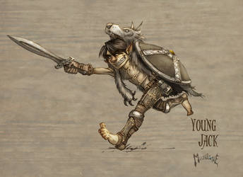 Young Jack by slaine69