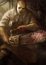 Leatherface by slaine69
