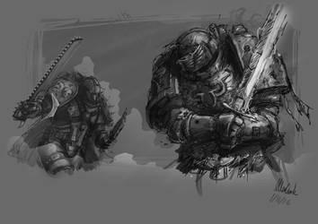Calth Sketch by slaine69