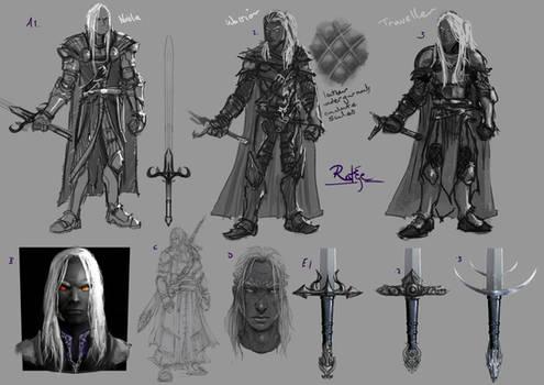 Malazan Charge character Rake