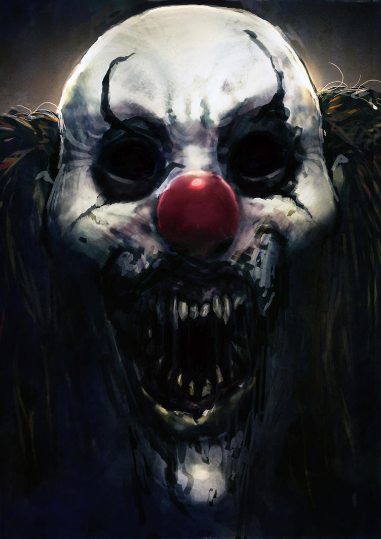 Pennywise - Black Eyes by slaine69