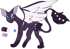 Cat dragon mix by LonelyBeatrice