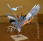 High Elves Prince mounted on Griffin
