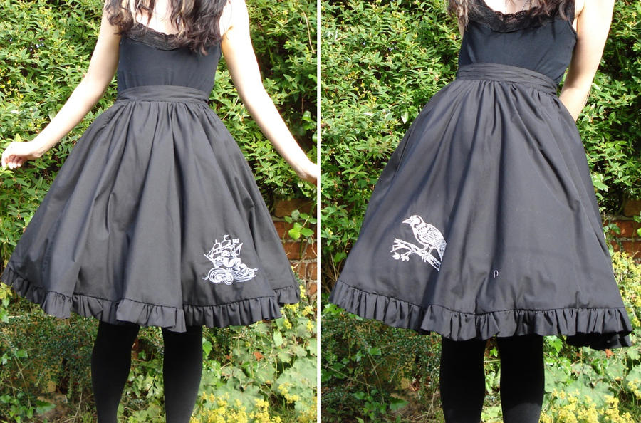 Pirate Raven Skirt by LotD