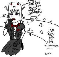 Purple Eyed Maiden of Darkness