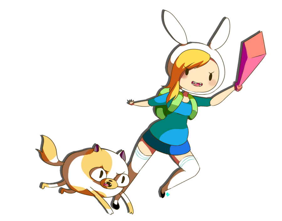 Fionna and Cake! by vanilla-beanie