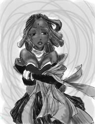 Mari WIP by GenkiGoth
