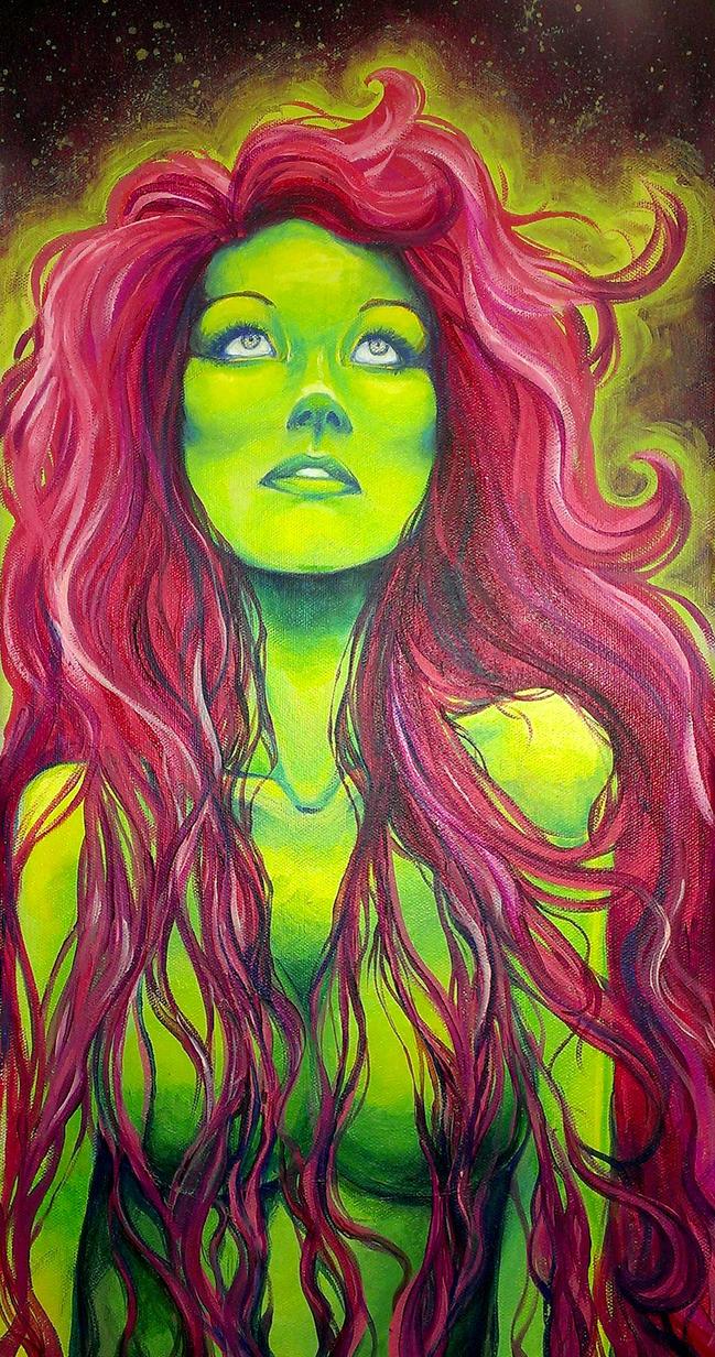 Green Girl by GenkiGoth