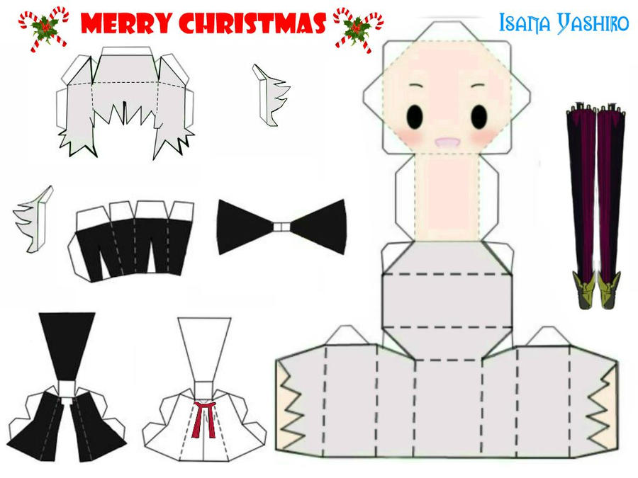 Papercraft Template By Kamiuni On Deviantart