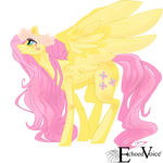 Fluttershy Vector by EchoVoiceheart