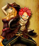 Fantasia Artbook: Natsu And Lucy