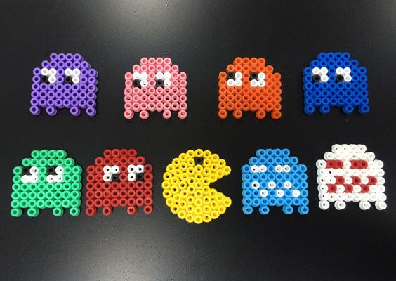 Hama Beads Como hacer: Marco de fotos Luffy