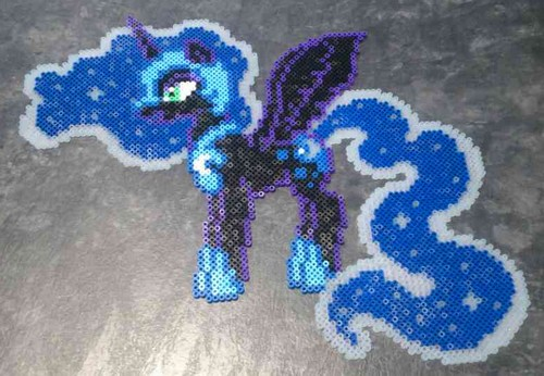 My Little Pony Nightmare Moon Hama By Hamamia On DeviantArt