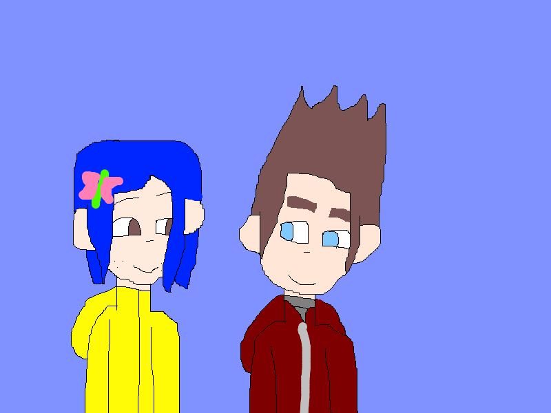 Norman Babcock and Coraline Jones by SonicX16 on deviantART
