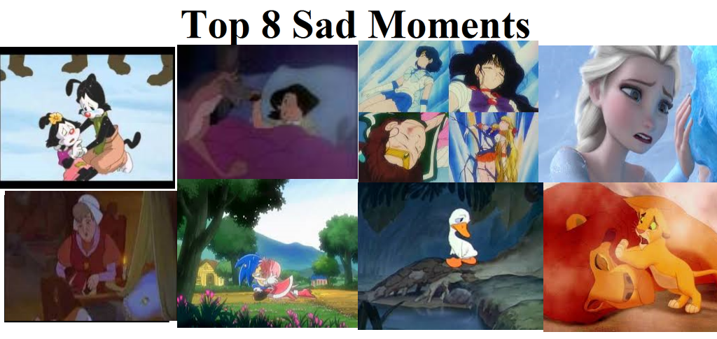 My Favorite Top 8 Sad Moments by L-fangirl-101
